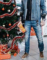 Джинсы P.n.B молодёжные рваные 2070 стильная мужская одежда, джинсы, брюки, шорты
