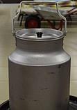 Бидон для молока алюминиевый КАЛИТВА (10 л), фото 2