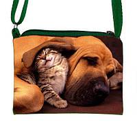 Креативная сумочка для девочки с принтом