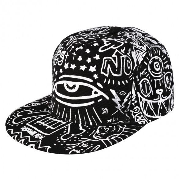 Мужская кепка хип-хоп с глазом