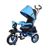 Велосипед детский трёхколесный Turbo Trike с родительской ручкой