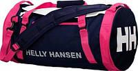 Стильная спортивная сумка HELLY HANSEN DUFFEL BAG 2 30L 68006-689 цвет синий с розовым
