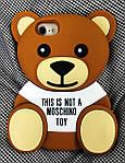 Чехол Moschino Bear Медведь для iPhone 7/8, Мишка