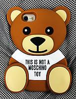 Чехол Moschino Bear Медведь для iPhone 7, Мишка