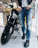 Джинсы Manzara молодёжные рваные 2997 стильная мужская одежда, джинсы, брюки, шорты