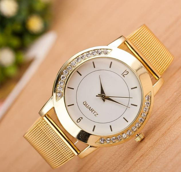 Наручные часы женские с кристаллами