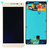 Дисплей (LCD) Samsung A500F Galaxy A5 Duos/ A500FU/ A500H with touch screen (2015) gold