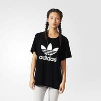 Футболка Adidas Originals женская Boyfriend Trefoil AJ8351 - 17
