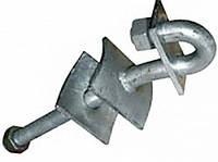 Сквозной крюк e.through.hook.pro.310.20.s, 310мм, М20 с предохранительной пластиной