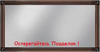 Зеркало в раме 1,61 Тоскана (Черная-Серебро)