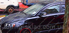 Ветровики окон Вольво S40 2 (дефлекторы боковых окон Volvo S40 2)
