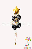 Фонтан на день рождения с конфетти и шуточными оскорблениями