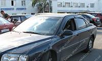 Ветровики окон Вольво S80 1  (дефлекторы боковых окон Volvo S80 1)