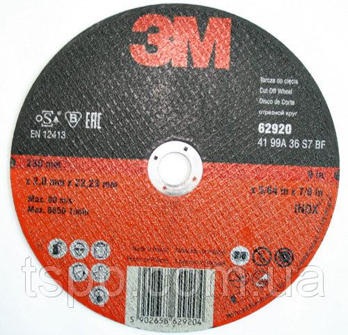 Круг отрезной 68011 тип 41 INOX 1 G46 для нерж. металов 125мм х1мм