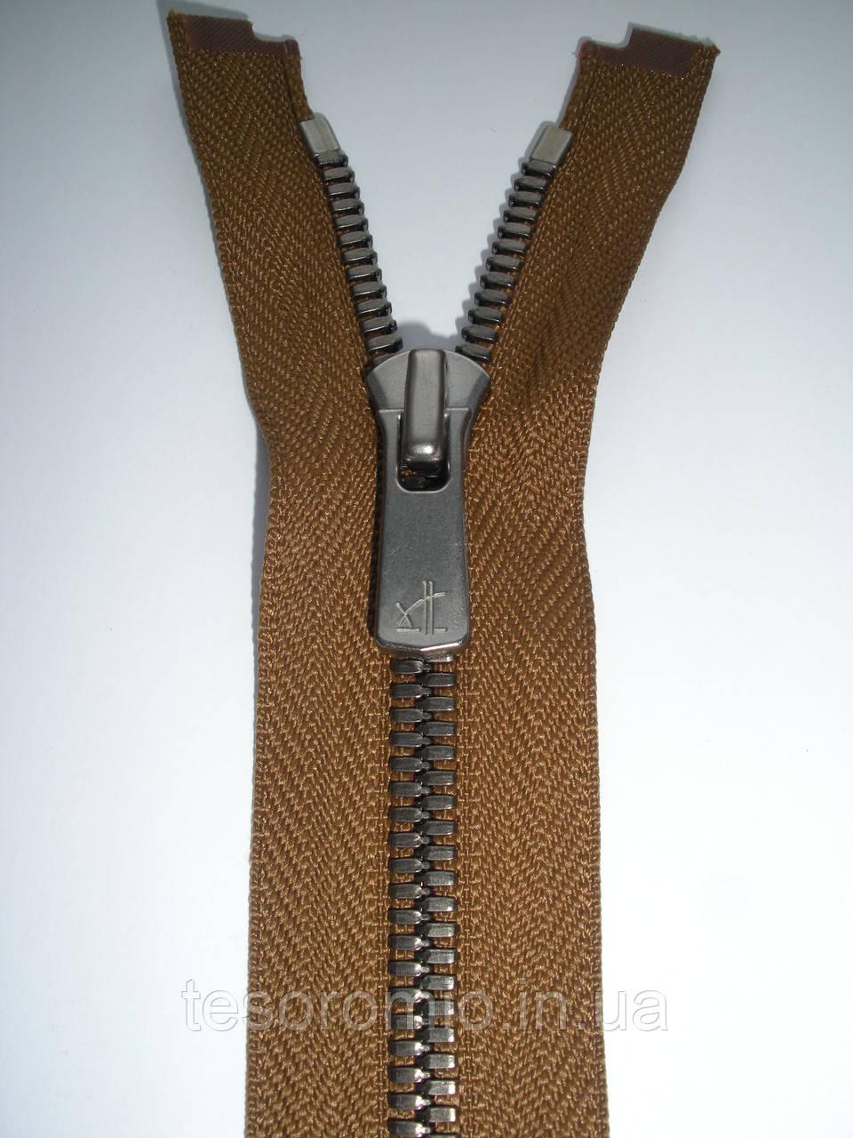 Блискавка металева роз'ємна 75см, тип 5 YKK EXCELLA® , 2 бігунка