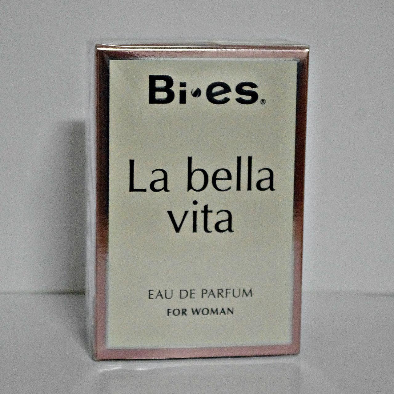 Парфюмированная вода женская La bella vita 100 мл.