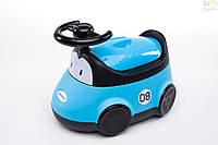 Горшок Babyhood Автомобиль голубой
