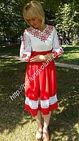 Платье женское с вышивкой СЖ 101