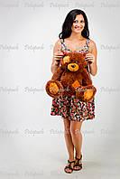 Большой плюшевый мишка, медведь Тэдди 50см Коричневый
