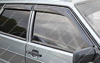 Ветровики окон Ваз 21099 (дефлекторы боковых окон Lada 21099)