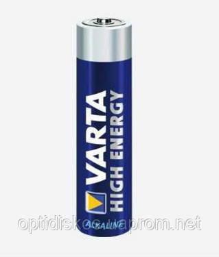 Батарейка Varta High Energy AAA LR3 Alkaline 1.5V Micro , фото 2