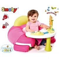 Развивающий центр Hадувной Стульчик со Столиком Cotoons Smoby 110201R