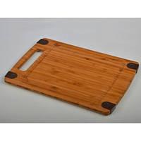 Доска разделочная бамбуковая HILTON BCB 1213 368х254х10мм
