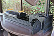 """Мангальный комплекс """"Эмир"""" (цвет черный/коричневый) максимальная комплектация, фото 6"""
