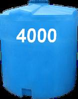 Емкость вертикальная круглая 4000 литров
