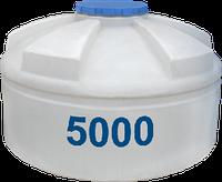 Емкость вертикальная круглая 5000 литров