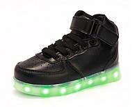 Кроссовки светящиеся с LED лампочками белые