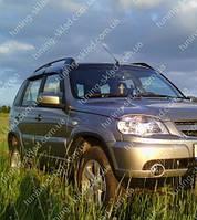 Ветровики окон Шевроле Нива (дефлекторы боковых окон Chevrolet Niva)