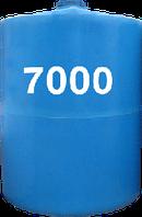 Емкость вертикальная круглая 7000 литров