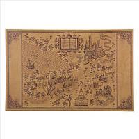 Карта Мародеров (Marauder's Map), карта волшебного мира Гарри Поттера