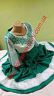 Платье женское с вышивкой СЖ 103