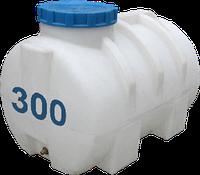 Емкость горизонтальная круглая 300 литров