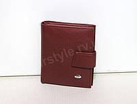 Бордовый кошелек малого размера ST (10325)