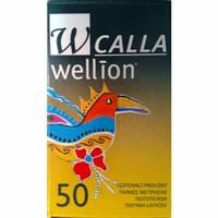 Тест-полоски Wellion Calla 50strips|Веллион галла 50шт
