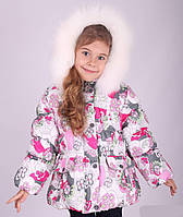 Куртка зимняя для девочки Donilo размер 104-128