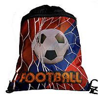 Сумка для сменной обуви Football + мяч 7859-2