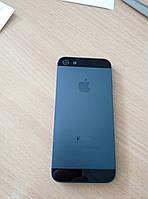 Задняя крышка iPhone 5  BLACK (Тело)