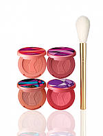 Набор румян + кистьTarte Limited Edition sculpted cheeks deluxe Amazonian clay blush set & brush