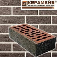 """Кирпич клинкерный """"Керамейя"""" Рустика Гранит 53, Пр1 36%"""