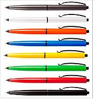 Ручка пластиковая с печатью логотипа