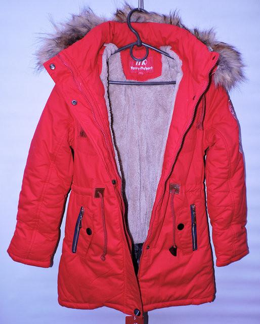 Стильна зимова куртка для дівчинки 8-12 років із знімним капюшоном і ... 69b0c9fedccd1