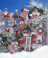 """Набор для вышивания крестом """"Signs Of Christmas//Признаки Рождества"""" Design Works"""