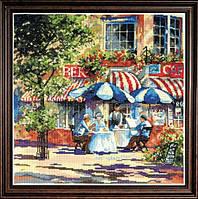 """Набор для вышивания крестом """"Cafe in the Sun//Кафе под солнцем"""" Design Works"""