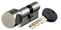 Цилиндр замка Iseo R7 85 мм (35х50Т) ключ тумблер хром