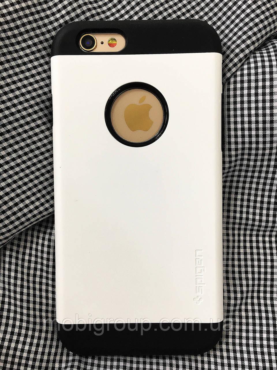 Чехол Spigen Slim Armor iPhone 6S\6 (HQ-копия), White