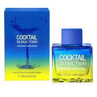 Antonio Banderas Cocktail Seduction Blue For Men - edt 100 ml